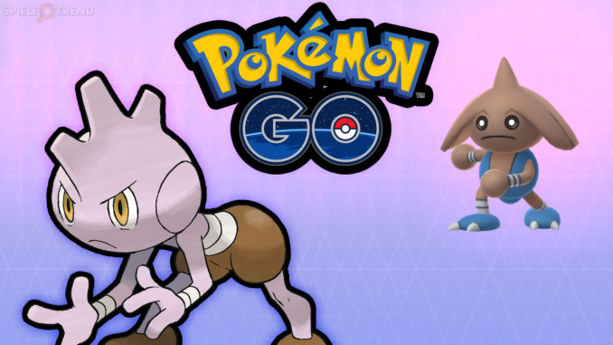 Pokémon GO: Rabauz zu Kapoera entwickeln