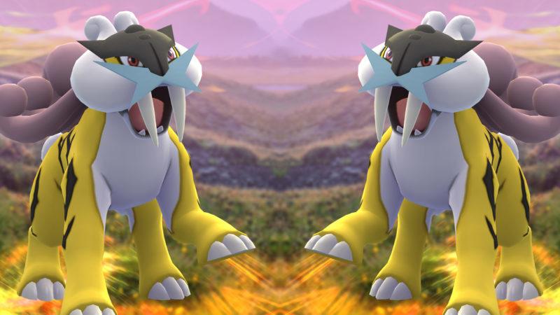 Raikou Pokémon GO