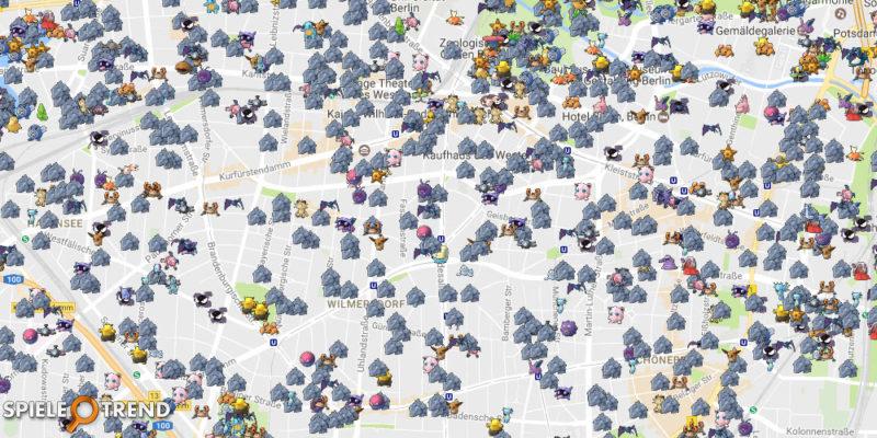Pokémon GO Rihorn Nest Berlin