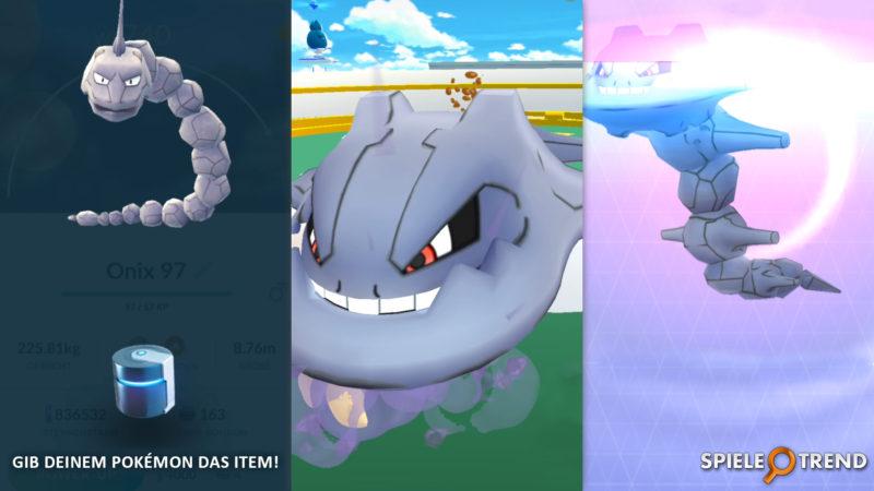 Pokémon GO Stahlos mit Metallmantel
