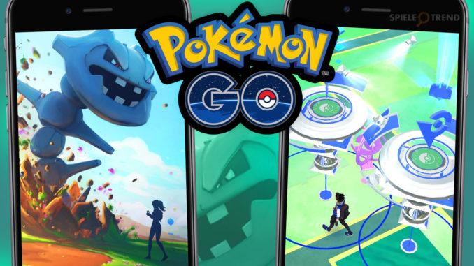 Pokémon GO Stahlos in der Arena