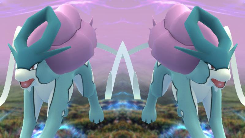 Suicune in Pokémon GO