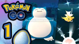 Pokémon GO Oster Event Tagebuch 1