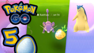 Pokémon GO Oster Festival Tagebuch 5