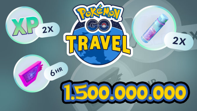 Pokémon GO Travel Silber