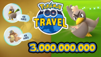 Porenta bei Pokémon GO Travel freigespielt