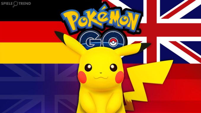 Pokémon GO Tabelle Übersetzung