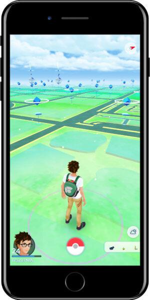 Pokémon GO Wetter Cloudy