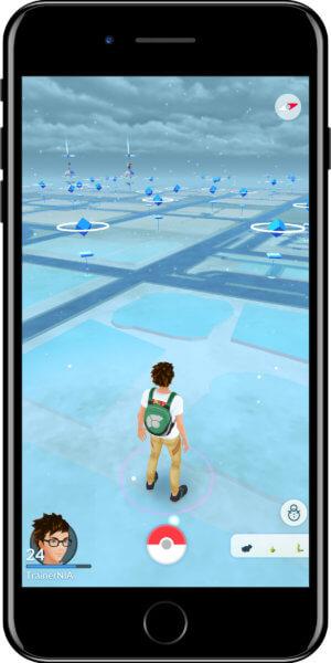 Pokémon GO Wetter Snowy
