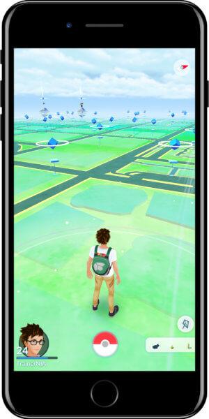 Pokémon GO Wetter Windy