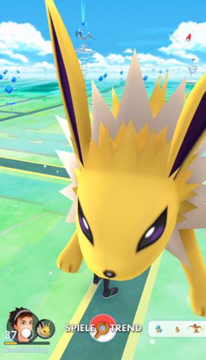 Pokémon GO Evoli / Blitza