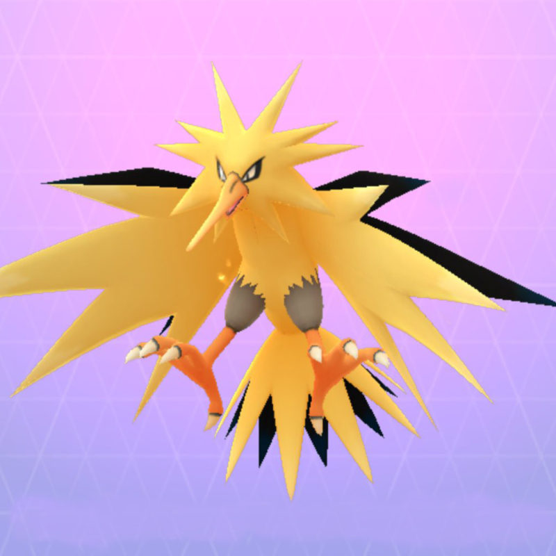Zapdos in Pokémon GO