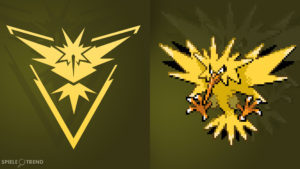 Pokémon GO Zapdos (Team Instinct)
