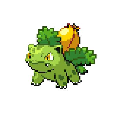 Pokémon Pokédex Nummer 2 Bisaknosp Shiny
