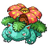 Pokémon Pokédex Nummer 3 Bisaflor