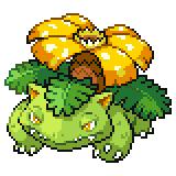 Pokémon Pokédex Nummer 3 Bisaflor Shiny