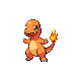 Pokémon Pokédex Nummer 4 Glumanda