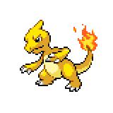 Pokémon Pokédex Nummer 5 Glutexo Shiny