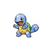 Pokémon Pokédex Nummer 7 Schiggy Shiny