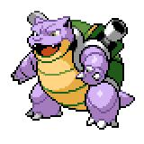 Pokémon Pokédex Nummer 9 Tutrok Shiny