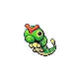 Pokémon Pokédex Nummer 10 Raupy