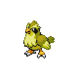 Pokémon Pokédex Nummer 16 Taubsi Shiny