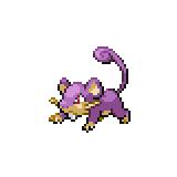 Pokémon Pokédex Nummer 19 Rattfratz