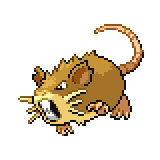Pokémon Pokédex Nummer 20 Rattikarl