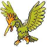 Pokémon Pokédex Nummer 22 Ibitak Shiny