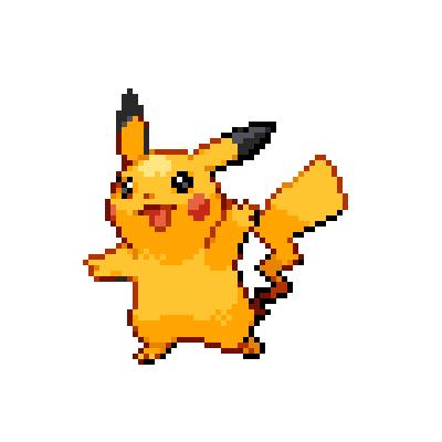 Pokémon Pokédex Nummer 25 Pikachu Shiny