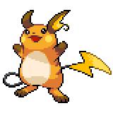 Pokémon Pokédex Nummer 26 Raichu