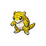 Pokémon Pokédex Nummer 27 Sandan