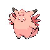 Pokémon Pokédex Nummer 36 Pixi