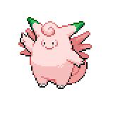 Pokémon Pokédex Nummer 36 Pixi Shiny