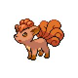 Pokémon Pokédex Nummer 37 Vulpix