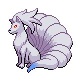 Pokémon Pokédex Nummer 38 Vulnona Shiny