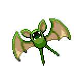 Pokémon Pokédex Nummer 41 Zubat Shiny