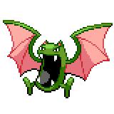 Pokémon Pokédex Nummer 42 Golbat Shiny