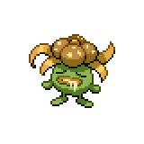 Pokémon Pokédex Nummer 44 Duflor Shiny