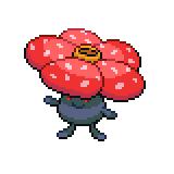 Pokémon Pokédex Nummer 45 Giflor
