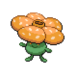 Pokémon Pokédex Nummer 45 Giflor Shiny