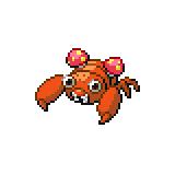 Pokémon Pokédex Nummer 46 Paras Shiny