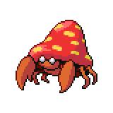 Pokémon Pokédex Nummer 47 Parasek
