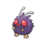Pokémon Pokédex Nummer 48 Bluzuk