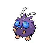 Pokémon Pokédex Nummer 48 Bluzuk Shiny