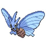 Pokémon Pokédex Nummer 49 Omot Shiny