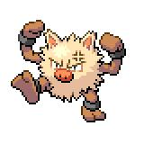 Pokémon Pokédex Nummer 57 Rasaff