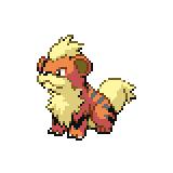 Pokémon Pokédex Nummer 58 Fukano
