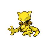 Pokémon Pokédex Nummer 63 Abra