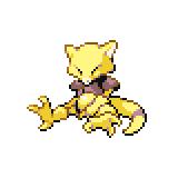 Pokémon Pokédex Nummer 63 Abra Shiny